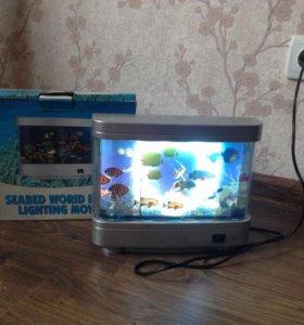 Декоративный электронный аквариум