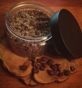 Сахарно-кофейный скраб для тела