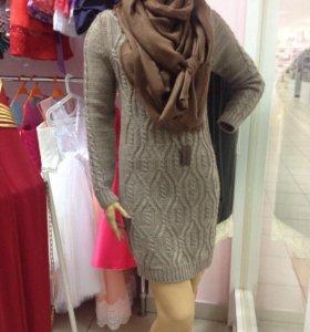 НОВОЕ вязанное платье!!!