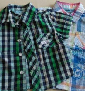 Рубашки 3-6мес