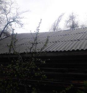 Устранения течи крыши.