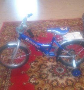 Продам новый детский велосипед. Торг на месте. Ник