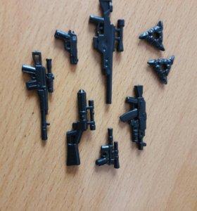 Оружие для человечков лего/ Lego 100 рублей