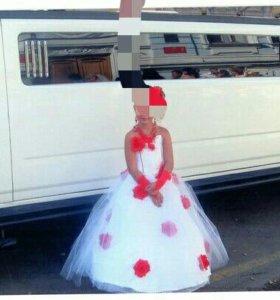 Платье на выпускной, праздник, свадьбу