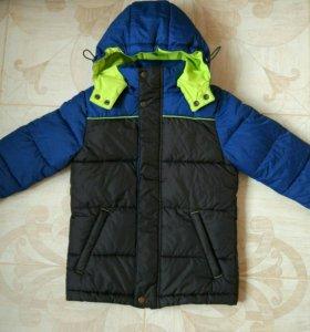 Куртка на мальчика 122-128 осень-зима