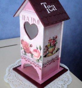 Чайный домик ручной работы