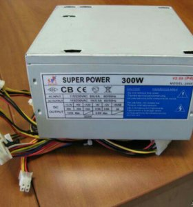 Блок питания    Super Power    200X 300W ATX