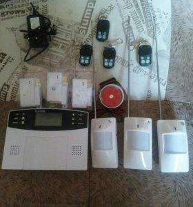 Беспроводная сигнализация для квартиры с GSM