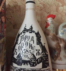 Керамическая бутылка ссср