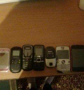 Телефоны на запчасти (читать описание)