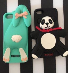 Чехлы на iPhone 5/5s/SE Moschino