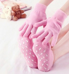 Спа перчатки и носочки гелевые увлажняющие