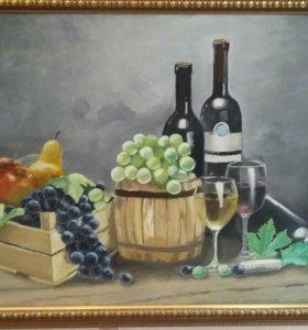 Картина на холсте маслом (ручная работа)