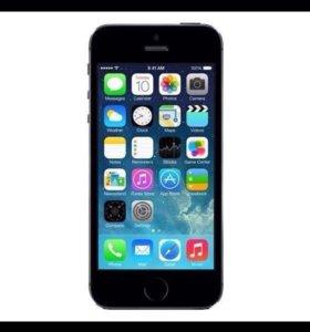Смартфон IPhone 5, чёрный бу