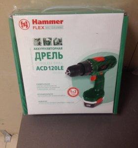 Шуруповёрт Hammer ACD120LE