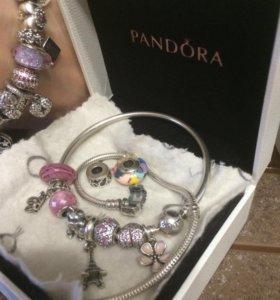 Пандора браслет с шармами