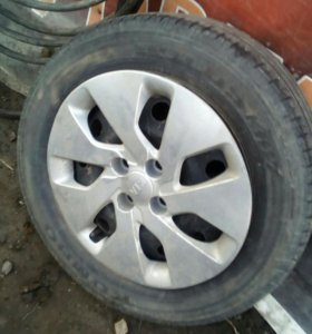 Комплект колес на Kia Rio
