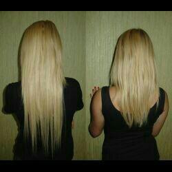 Супер Голливудское наращивание волос