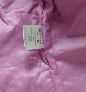 Пальто демисезонное размер 134