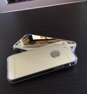 Чехлы gold на айфон