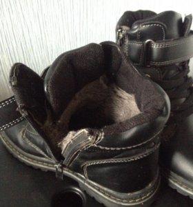 Ботинки для мальчика 30 р-р