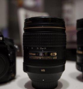 Объектив Nikkor 24-120mm 1:4G