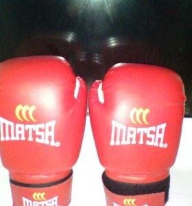 Перчятки боксёрские matsa