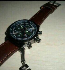 Армейские часы AMST (чёрный корпус)