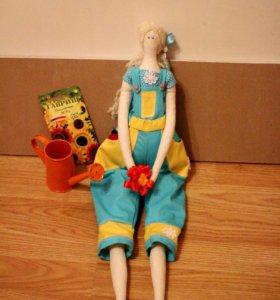 Кукла Тильда на заказ. Ручная работа.