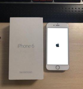 Apple iPhone 6 16GB как новый (золотистый)