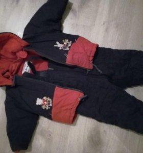 Куртка и комбез (комплект)