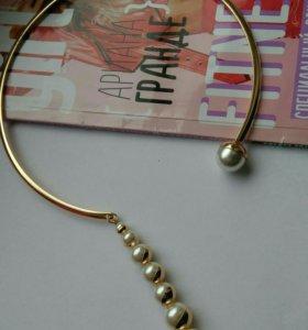 Ожерелье иск.жемчуг