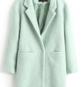Пальто мята