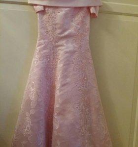 Платье для девочки 10- 11 лет .