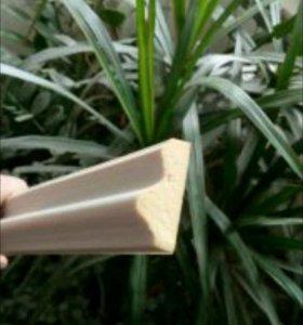 Потолочный гибкий плинтус полиуритановый 5 шт.