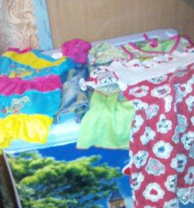 Платья, юбки, футболки от