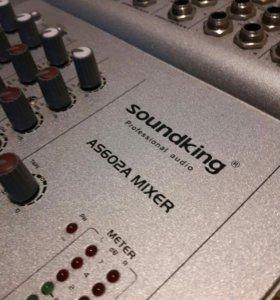 Микшерный пульт soundking as602a