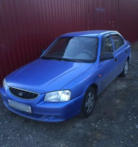 hyundai accent 1.6 AT 2005