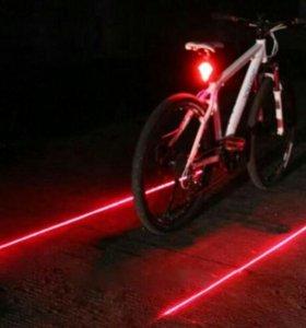 Габаритный фонарь на велосипед.