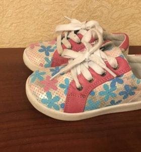 Туфли для девочки р 25