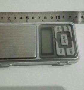 Весы ювелирные карманные 0-200г.