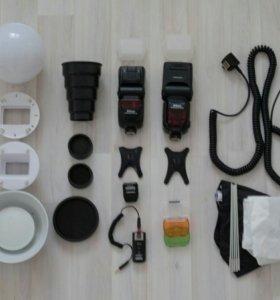 Вспышки Nikon sb900 и sb700