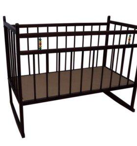 Новая кроватка Мишутка. Колесо-качалка