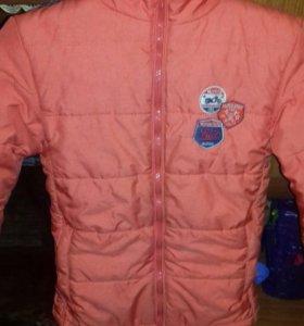 Куртка весна осень теплая зима