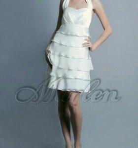 Вечернее платье 40-42 туфли в подарок