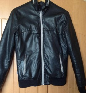 Куртка кожаная terranova