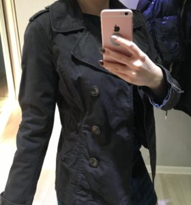 Двубортный пиджак h&m