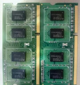 Оперативная память для ноутбука SO-DIMM DDR3 3GB