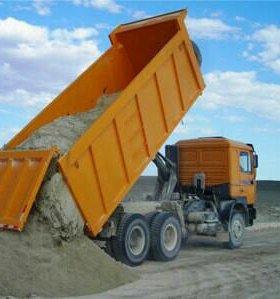 Доставка песока,щебеня