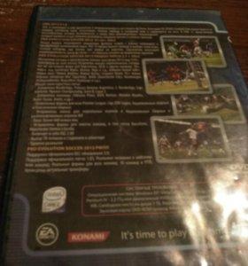 Диск(Игры на пк). Короли футбола #3